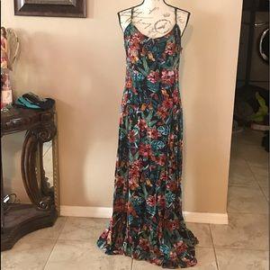 Mudd full length dress.